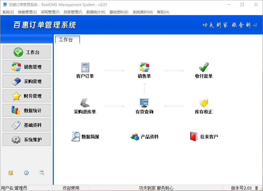 百惠订单管理系统